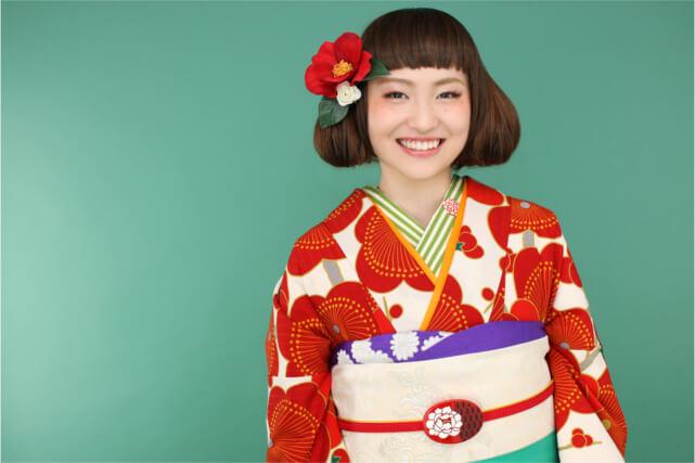 山梨で前撮りを承る【田中写真館】は和装が豊富!お気に入りの一着で素敵な成人式を