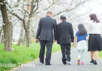 桜ロケーション撮影♪♪