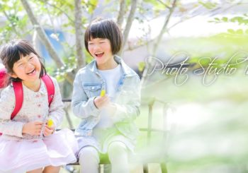 入学式まであと少し!!入学記念撮影