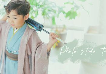 田中写真館オリジナル新作着物★5才着流し♪♪
